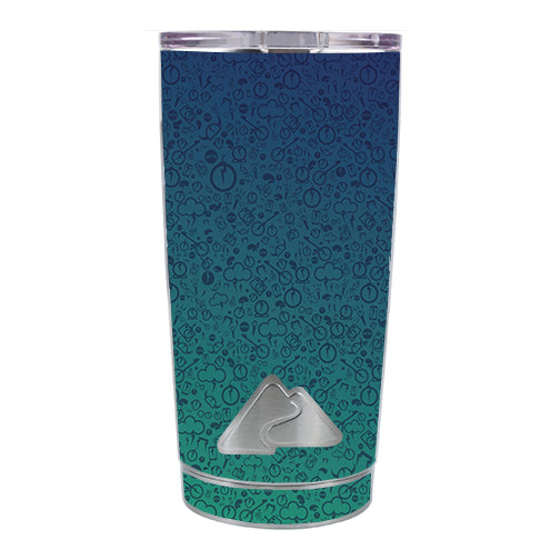 Lightning Bolts Ozark Trail 20oz Tumbler Skin
