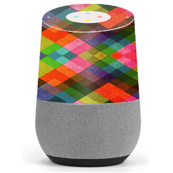 Color Hearts Google Home Skin