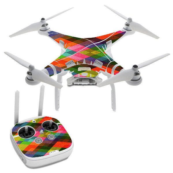 Color Hearts DJI Phantom 3 Professional Skin