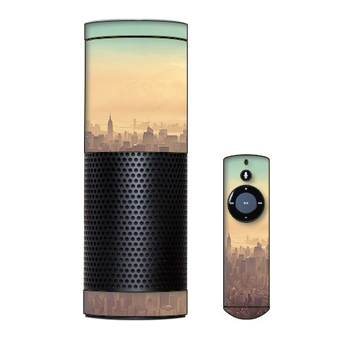 New York City Amazon Echo Skin