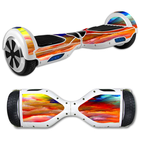 Oil Paint Hoverboards  Skin