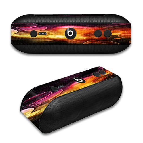 Orange Bubbles Beats by Dre Pill Plus Skin