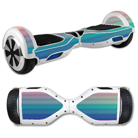 Pastel Stripes Hoverboards  Skin