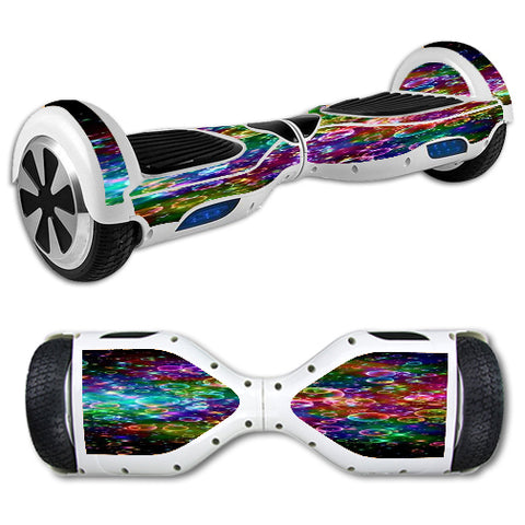 Rainbow Bubbles Hoverboards  Skin