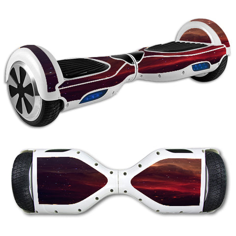 Red Galactic Nebula Hoverboards  Skin
