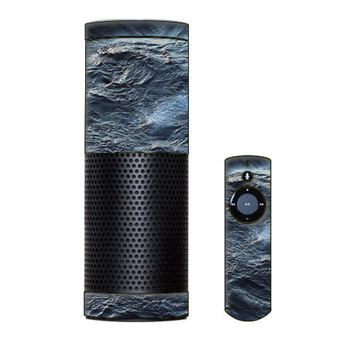 Sea Waves Amazon Echo Skin