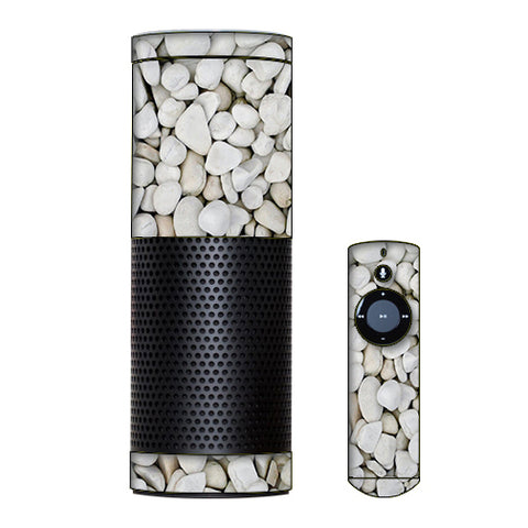 White Rocks Amazon Echo Skin