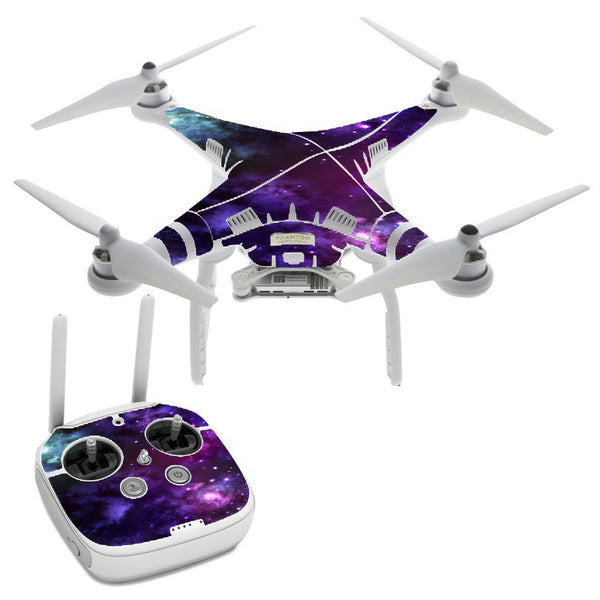 Space Gasses DJI Phantom 3 Professional Skin