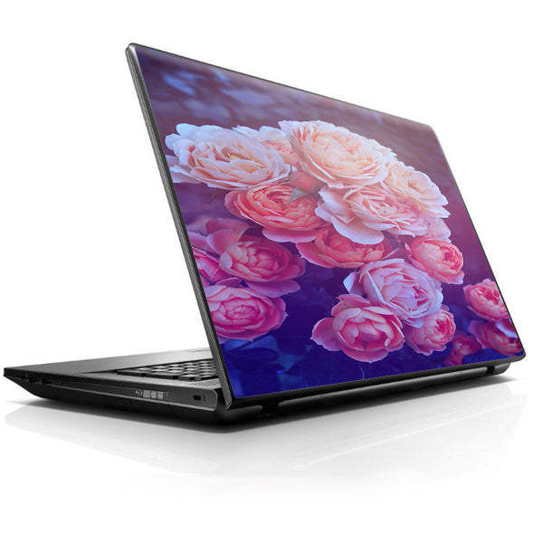 Pink Roses Universal 13 to 16 inch wide laptop Skin
