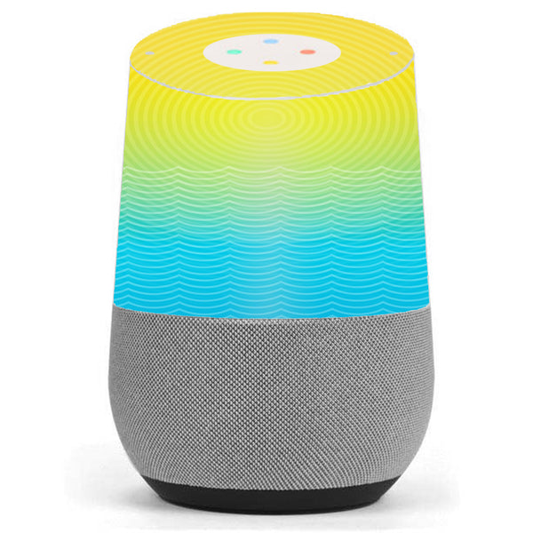 Sun And Ocean Google Home Skin