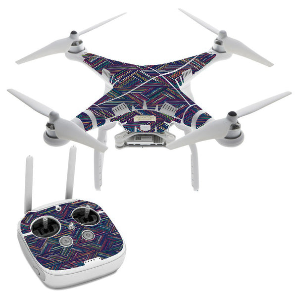 Triangle Weave DJI Phantom 3 Professional Skin