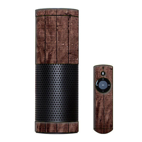 Wood Floor Amazon Echo Skin