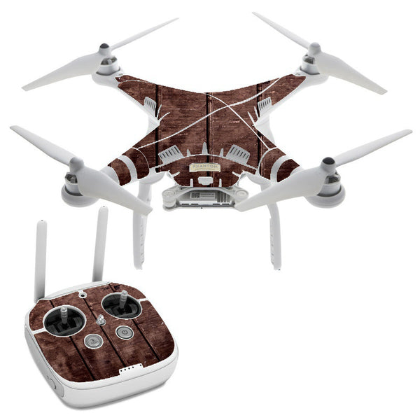 Wood Floor DJI Phantom 3 Professional Skin