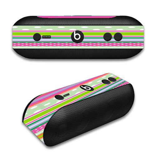 Colorful Chevron Beats by Dre Pill Plus Skin