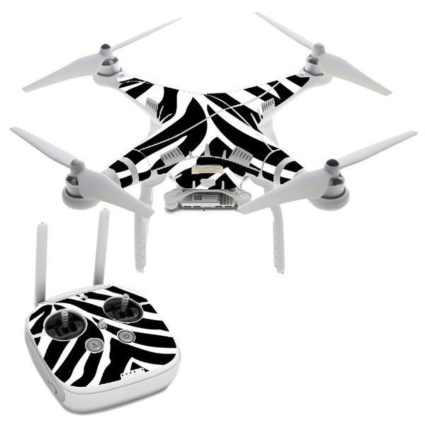 Zebra Animal DJI Phantom 3 Professional Skin