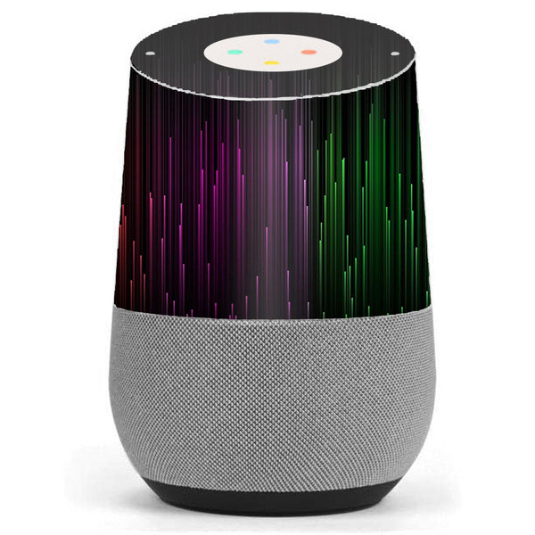 Red Green Blue Tracers Google Home Skin