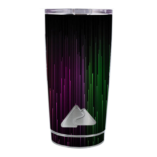 Red Green Blue Tracers Ozark Trail 20oz Tumbler Skin
