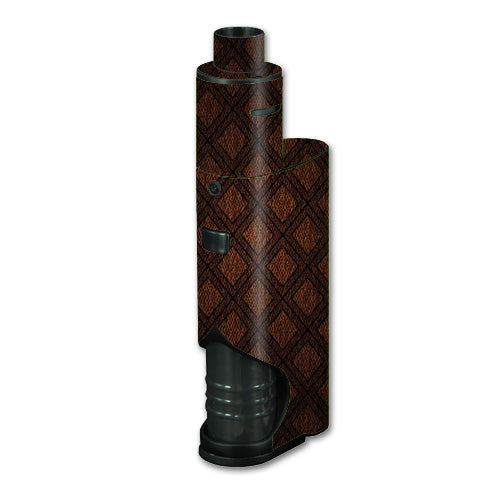 Brown Background Kangertech dripbox Skin
