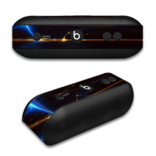 Abstract Light Tracers Beats by Dre Pill Plus Skin