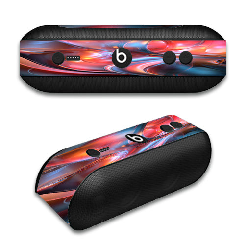 Abstract Blown Glass Beats by Dre Pill Plus Skin
