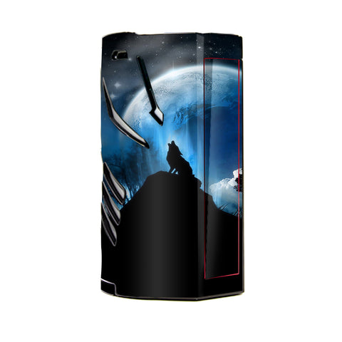 Howling Wolf Moon T-Priv 3 Smok Skin