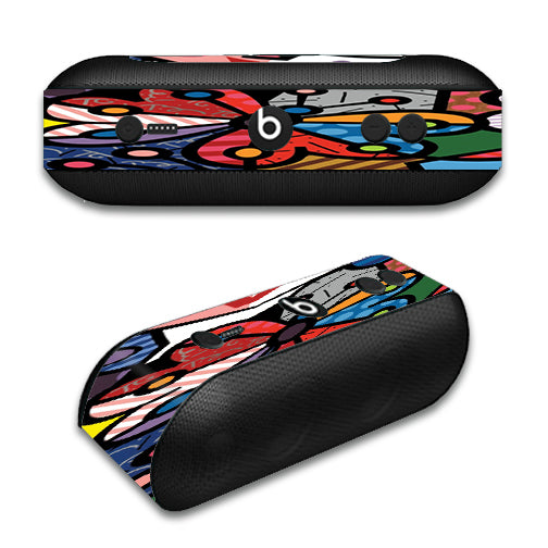 Butterfly Stained Glass Beats by Dre Pill Plus Skin