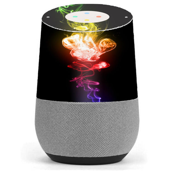 Color Smoke Google Home Skin
