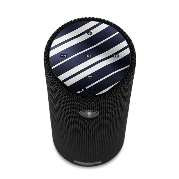 Black White Stripes Amazon Tap Skin