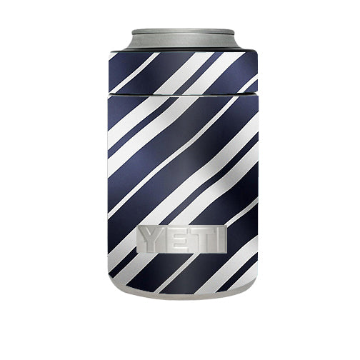 Black White Stripes Yeti Rambler Colster Skin