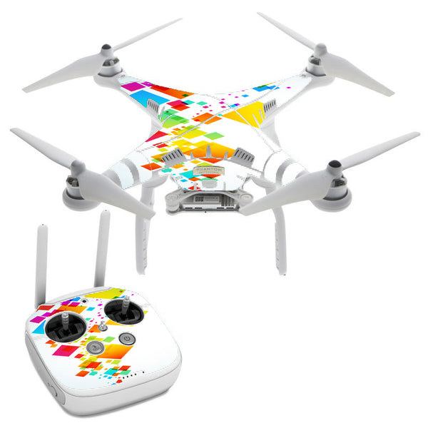 Colorful Abstract Graphic DJI Phantom 3 Professional Skin