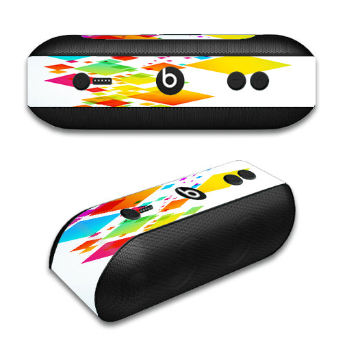 Colorful Abstract Graphic Beats by Dre Pill Plus Skin