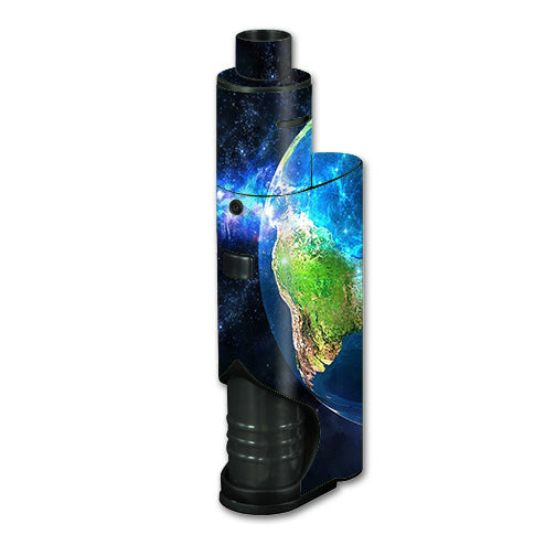 3D Earth Kangertech dripbox Skin
