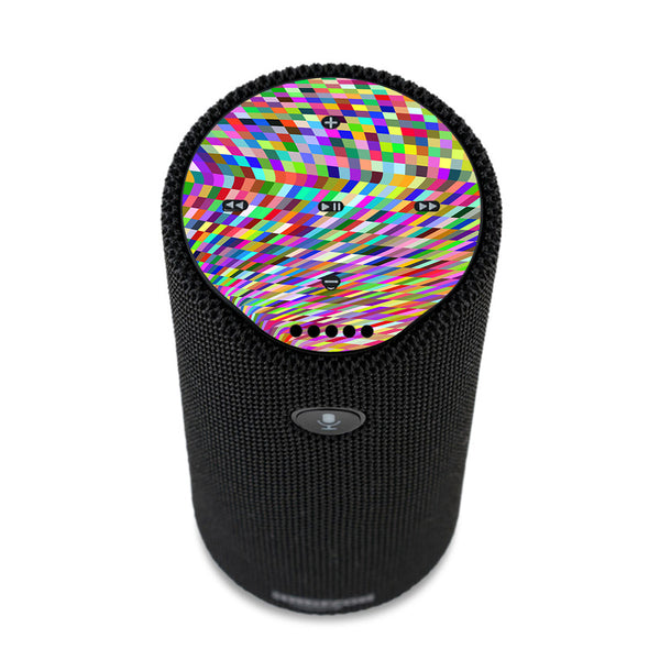 Color Checker Swirl Amazon Tap Skin