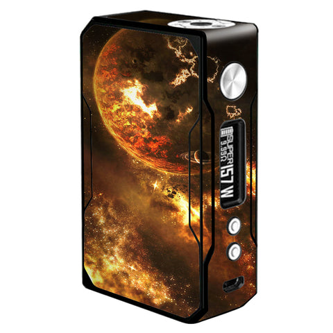 Planets Fire Saturn Rings Voopoo Drag 157w Skin