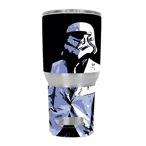 Pimped Out Storm Guy RTIC 30oz Tumbler Skin