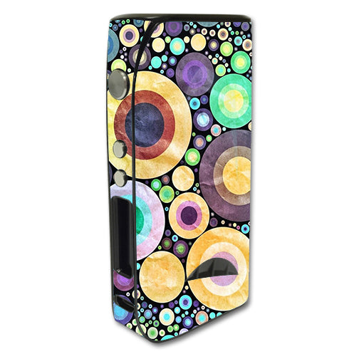 Abstract Circle Canvas Pioneer4You iPV5 200w Skin
