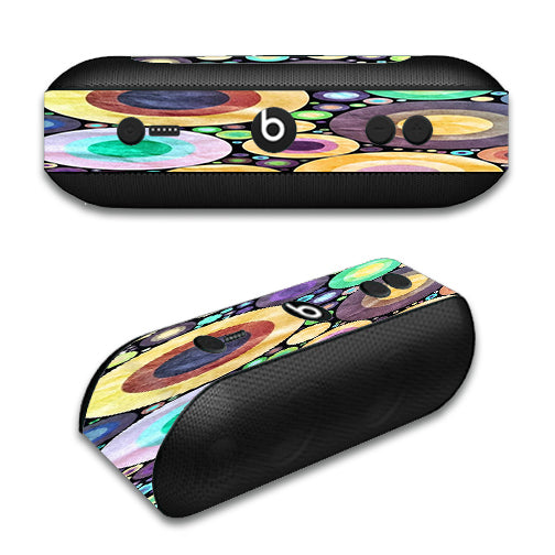 Abstract Circle Canvas Beats by Dre Pill Plus Skin