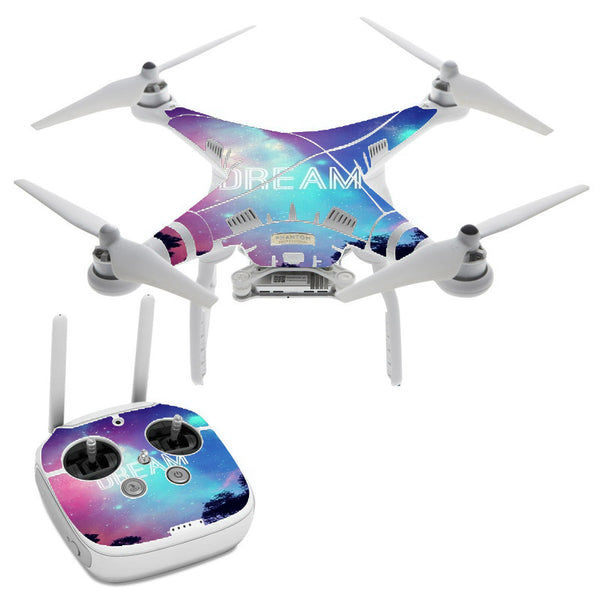 Dream Poem  Galaxy DJI Phantom 3 Professional Skin
