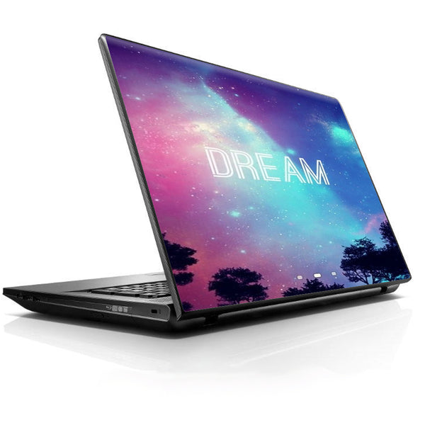 Dream Poem  Galaxy Universal 13 to 16 inch wide laptop Skin