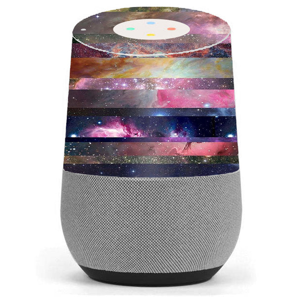 Galaxy Nebula Outer Space Google Home Skin