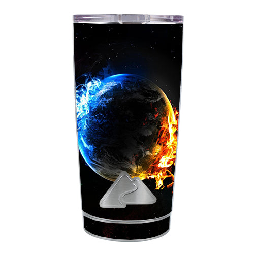 Fire Water Earth Scene Ozark Trail 20oz Tumbler Skin