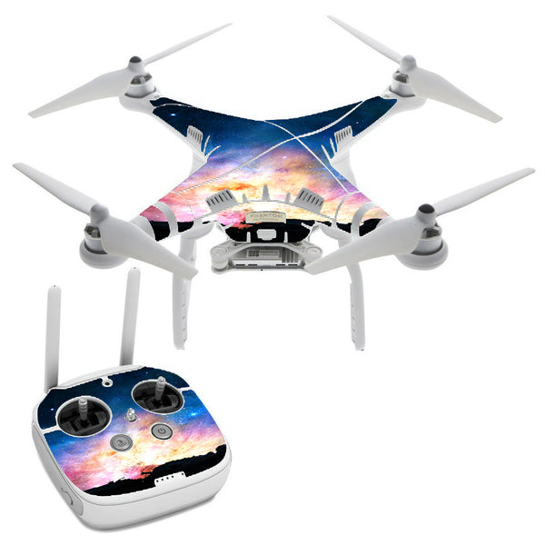 Power Galaxy Space Gas DJI Phantom 3 Professional Skin