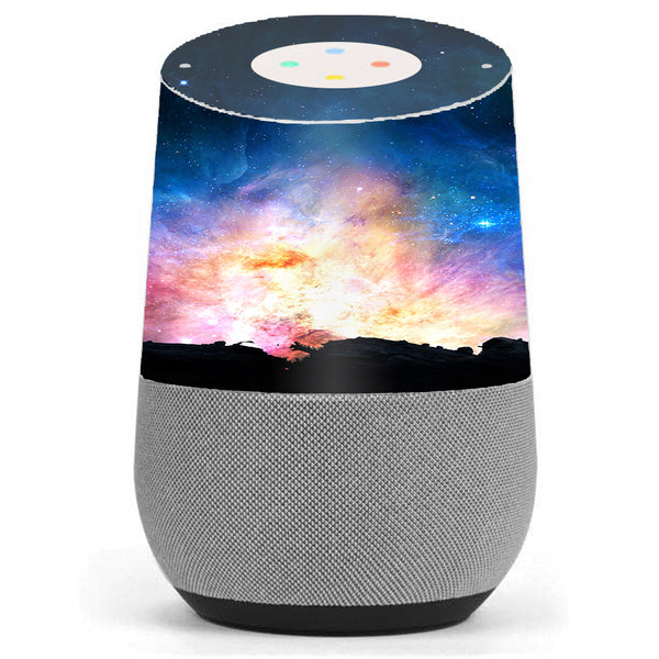 Power Galaxy Space Gas Google Home Skin