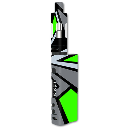 Triangle Pattern Green Grey Kangertech Subox Nano Skin