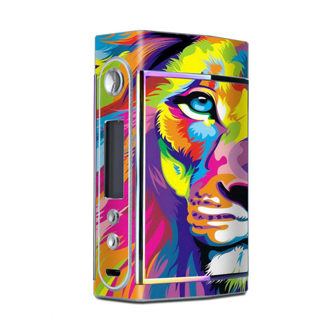 Colorful Lion Abstract Paint Too VooPoo Skin