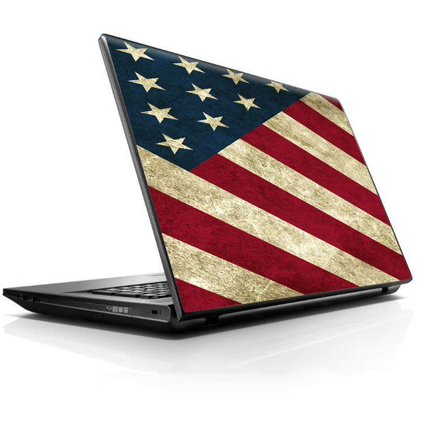 America Flag Pattern Universal 13 to 16 inch wide laptop Skin