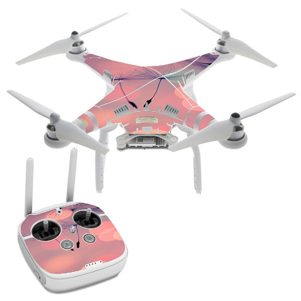 Dandilions Blowing Wind DJI Phantom 3 Professional Skin