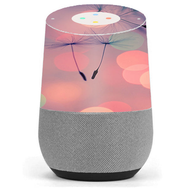 Dandilions Blowing Wind Google Home Skin