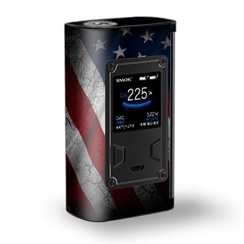 American Flag Distressed  Majesty Smok Skin