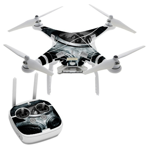 Gas Mask War Apocolypse DJI Phantom 3 Professional Skin